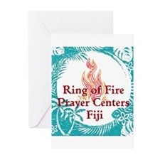 Ring of Fire Island Fire Greeting Cards (Pk of 10)