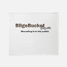 BilgeBucket Gazette Throw Blanket