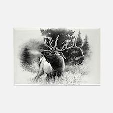 Elk Bugle.tif.png Rectangle Magnet