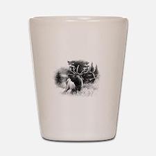 Elk Bugle.tif.png Shot Glass