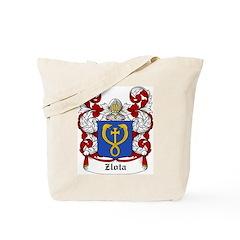 Zlota Coat of Arms Tote Bag