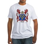 Zlota Coat of Arms Fitted T-Shirt