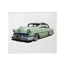 1954 Chevy Bel Air Throw Blanket