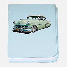 1954 Chevy Bel Air baby blanket