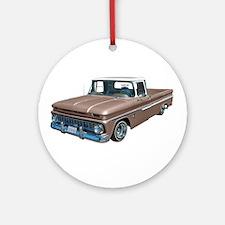 1963 Chevy C10 Ornament (Round)