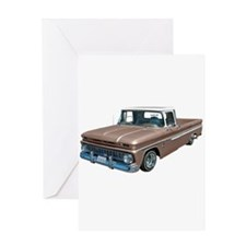1963 Chevy C10 Greeting Card
