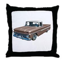 1963 Chevy C10 Throw Pillow