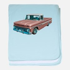 1963 Chevy C10 baby blanket