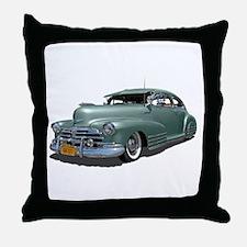 1948 Chevy Fleetline Throw Pillow