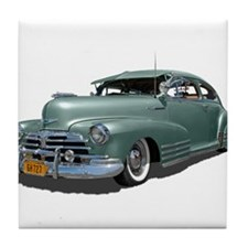 1948 Chevy Fleetline Tile Coaster