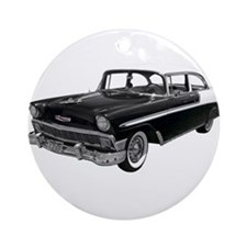 1956 Chevy Bel Air Ornament (Round)
