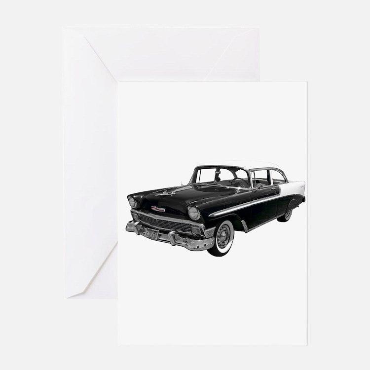 1956 Chevy Bel Air Greeting Card