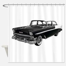 1956 Chevy Bel Air Shower Curtain