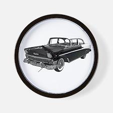 1956 Chevy Bel Air Wall Clock