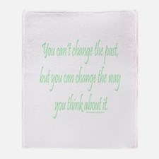 Wisdom - Can't Change Past Throw Blanket