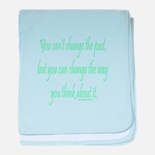 Wisdom - Can't Change Past baby blanket