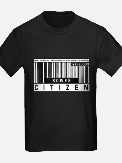 Bowes, Citizen Barcode, T