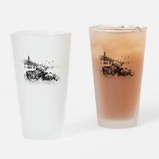 Moose Drinking Glass