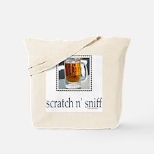 Scratch n' Sniff Beer Tote Bag