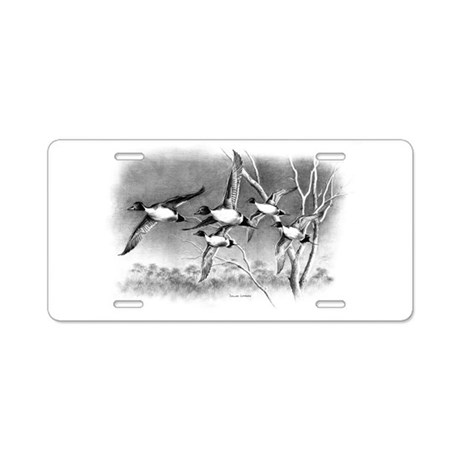 Pintails Aluminum License Plate
