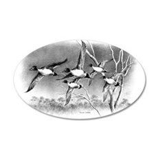 Pintails 35x21 Oval Wall Decal