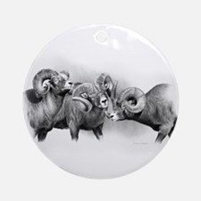 Rams Ornament (Round)