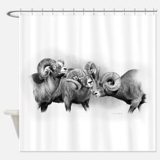 Rams Shower Curtain