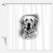 Yello Lab Shower Curtain