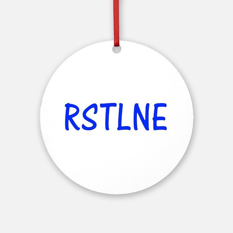 RSTLNE Ornament (Round)