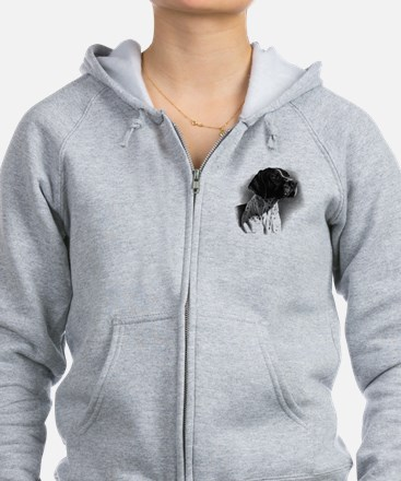German Short Hair Zip Hoodie