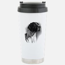 German Short Hair Stainless Steel Travel Mug