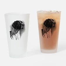 German Short Hair Drinking Glass