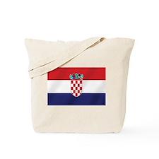 Flag of Croatia Tote Bag