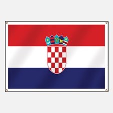Flag of Croatia Banner