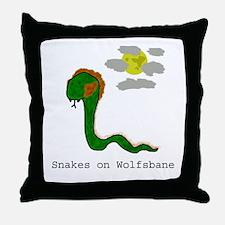 Wolfsbane Throw Pillow