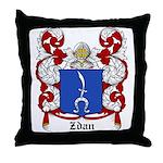 Zdan Coat of Arms Throw Pillow