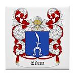 Zdan Coat of Arms Tile Coaster
