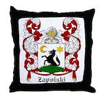 Zapolski Coat of Arms Throw Pillow