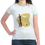 Venus de Knitting Jr. Ringer T-Shirt