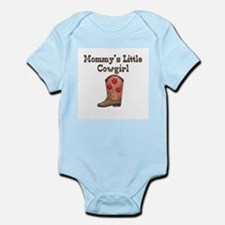 Mommy's Little Cowgirl Infant Creeper