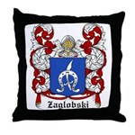 Zaglobski Coat of Arms Throw Pillow