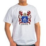 Zaglobski Coat of Arms Ash Grey T-Shirt