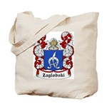 Zaglobski Coat of Arms Tote Bag