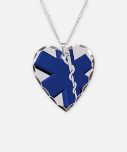 EMT/Paramedic Logo Star of Life Necklace