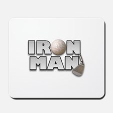 Golfing Iron Man Mousepad