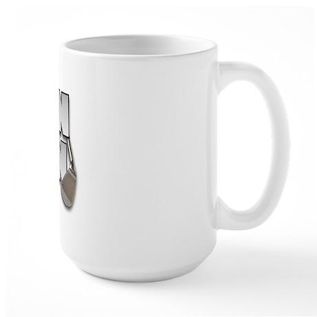 Golfing Iron Man Large Mug
