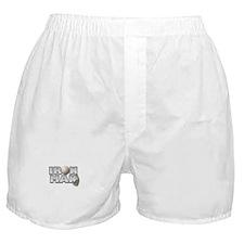 Golfing Iron Man Boxer Shorts