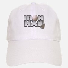 Golfing Iron Man Baseball Baseball Cap