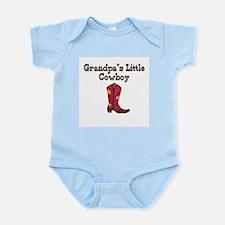 Grandpa's Little Cowboy Infant Creeper