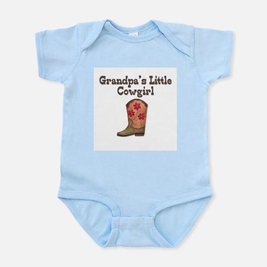 Grandpa's Little Cowgirl Infant Creeper